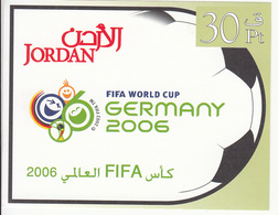 2006 Jordan World Cup Soccer Championships Germany Souvenir Sheets MNH - Jordan