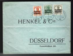 LETTRE D'ALLEMAGNE - 1919 - Germania Freistaat BAYERN Auf Firmen Orts-Brief V. LANDAU - Deutschland