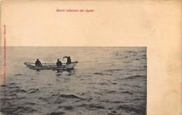 Iceland - Cod Fishermen - Publ. Oeuvres De Mer. - Iceland