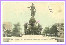 CPA - 248. PARIS - LE TRIOMPHE DE LA RÉPUBLIQUE - PLACE DE LA NATION (75 Paris) - Statues