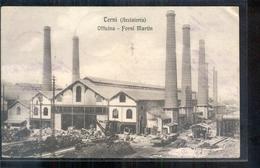 Italië Italy Italia - Terni Acciaieria - Officina Forni Martin - 1910 - Italië