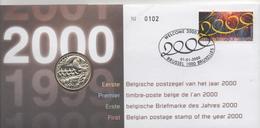 Premier Timbre  Belge De L'an 2000 - Numisletters