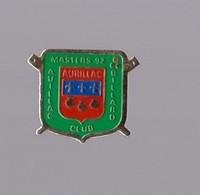 PIN S CANTAL AURILLAC MASTERS BILLARD ( COQUILLE SAINT JACQUES ) - Billiards