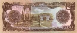 AFGHANISTAN P. 61b 1000 A 1990 UNC (2 Billets) - Afghanistan