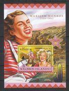 Salomon-Inseln 2016**, Marilyn Monroe, Kaktus / Solomon Islands 2016, MNH, Marilyn Monroe, Cactus - Sukkulenten