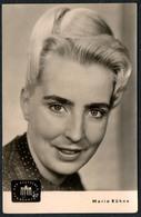 B8912 - Maria Kühne - Foto Autogrammkarte - Deutscher Fernsehfunk - DDR - Autogramme & Autographen