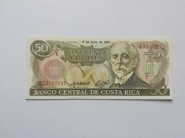 COSTA RICA 50 COLONES 1993 - Costa Rica