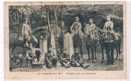 B-6914   MORESNET / VAALS / VIERLÄNDERBLICK : Am Vierländerblick 1917 - La Calamine - Kelmis