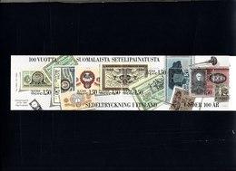 Finlande 1985 Cat Yvert N° C924** 100e Anniversaire De La Banque De Finlande1,20 - Booklets