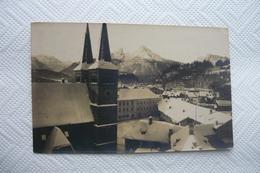 * BERCHTESGADEN IM WINTER * AK KLEINFORMAT * GELAUFEN NACH GRUNDLSEE BEI BAD AUSSEE * - Berchtesgaden