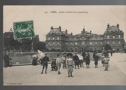 CPA 75 PARIS Jardin Et Palais Du Luxembourg - Parcs, Jardins