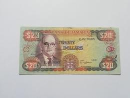 GIAMAICA 20 DOLLARS 1989 - Jamaica
