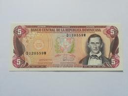 REPUBBLICA DOMINICANA 5 PESOS ORO - Dominicaine