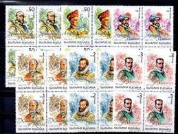 Cuatro Serie De Bulgaria Nº Yvert 3439/44 (**) - Bulgaria