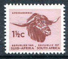 South Africa 1969-72 Redrawn Definitives - Phosphor Bands - 1½c Afrikander Bull MNH (SG 284) - Afrique Du Sud (1961-...)