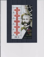 Belgie - Belgique 4380 Velletje Van 5 Postfris - Feuillet De 5 Timbres Neufs  -  150ste Verjaardag Rode Kruis - Feuilles Complètes