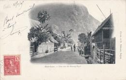 HAUT LAOS Une Rue De Muong-Ngoi 1491J - Laos