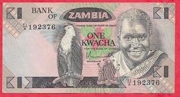 Zambie 1 Kwacha 1980/88  (sign 5) Dans L 'état - Zambie
