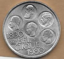 500 Francs Argenté 1980 FR - 1951-1993: Baudouin I