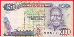 Zambie 100 Kwacha 1991   Dans L 'état - Zambie