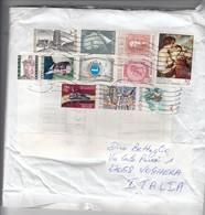 Belgio 2018 - Busta X L'Italia Affrancata Con 11 Stamps - Belgium