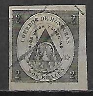 HONDURAS     -   1865.   Y&T N° 1 Oblitéré - Honduras