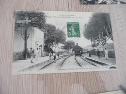 CPA 30 Gard Saint Just En Vacquières E La Gare  BE - Francia