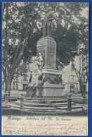 MALAGA    Estatua Del M De Larios    écrite En 1900 - Málaga