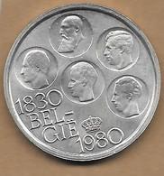 500 Francs Argenté 1980 FL - 1951-1993: Baudouin I