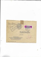 Brief Zentraler Kurierdienst 1956 Von Berlin Nach Jena/zurück! - DDR