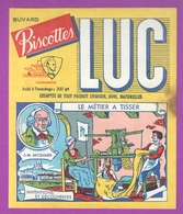 BUVARD - CHÂTEAUROUX BISCOTTES ST LUC - LE MÉTIER A TISSER - INVENTIONS ET DÉCOUVERTES - Biscottes
