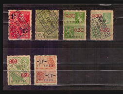O/Used-Belgique REVENUE  STAMPS TAXES FISCALES - Timbres
