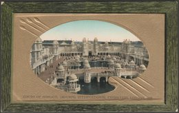 Court Of Honour, Imperial International Exhibition, 1909 - Valentine's Postcard - Exhibitions