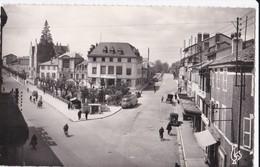 Carte 1950 BOURG / LA PLACE JOUBERT ET CHAMBRE DE COMMERCE (bus , Automobile) - Autres