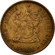 Monnaie, Afrique Du Sud, Cent, 1988, TTB, Bronze, KM:82 - Afrique Du Sud