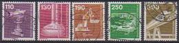 Berlin 1982 Mi-Nr.668 - 672  O Gest.Industrie Und Technik  ( B1450 ) Günstige Versandkosten - Gebraucht
