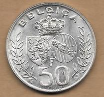 50 Francs Argent Mariage Royal Baudouin I 1960 Latin - 08. 50 Francs