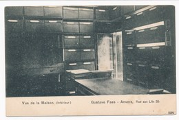 ANTWERPEN (ref. CP Nr 62) - Gustave FAES, Muziekwinkel, Rue Aux Lits 25 - Niet Gelopen - Antwerpen