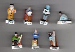 Série 7/10 Fèves Mâtes LES PEINTRES CELEBRES -  NORDIA 2006 - Characters