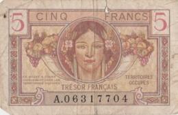 FRANCE - Billet Militaire 5 Francs - Territoires Occupés 1947 - Troupes Françaises D'occupation - Trésorerie Aux Armées - 1871-1952 Gedurende De XXste In Omloop