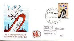 BELGIQUE. Enveloppe Commémorative De 1967. SOS Faim. - Contro La Fame