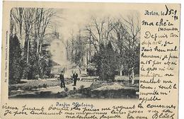 ARLON   JARDIN  WALZING    ECRITE  1898 - Arlon