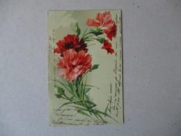 OEUILLETS 1905 - Blumen
