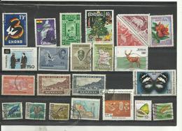 Lot De 22 Timbres D'afrique Divers. - Vrac (max 999 Timbres)