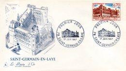 France. Enveloppe Fdc. Saint Germain En Laye. 17/06/1967 - 1960-1969