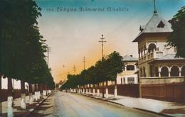 CAMPINA - 1930 , Bulevardul Elisabeta - Romania