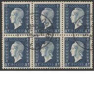 FRANCE 1945   Marianne De DULAC  Londres   N°YT 684     Bloc De 6 - 1944-45 Marianne Van Dulac