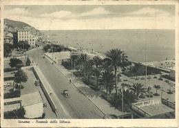 Varazze (Savona, Liguria) Piazzale Della Vittoria, Vittoria Square, Place De La Victoire - Savona