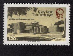 671366758 TURKISH CYPRUS 1984 POSTFRIS MINT NEVER HINGED POSTFRISCH EINWANDFREI SCOTT 147 ATATURK CULTURAL CENTER - Chypre (Turquie)