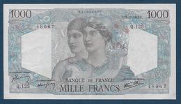 BILLET De  1000 F  Minerve Et Hercule  Du  22 - 11 - 1945 - 1 000 F 1945-1950 ''Minerve Et Hercule''